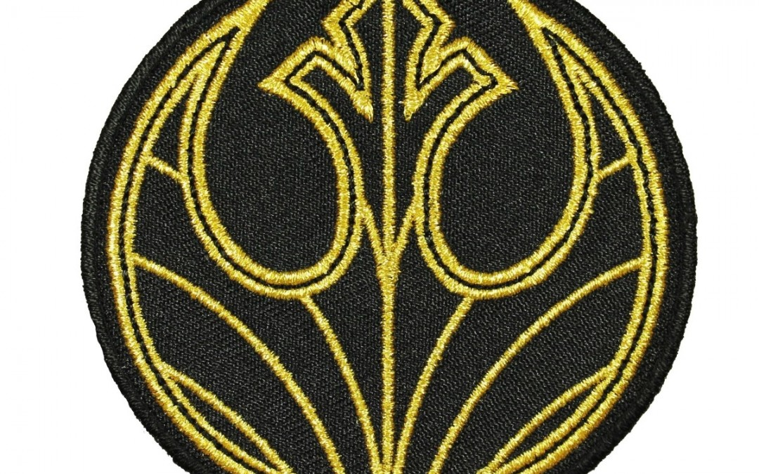 New Last Jedi Rebel Badge Embroidered Iron-On Patch now available!