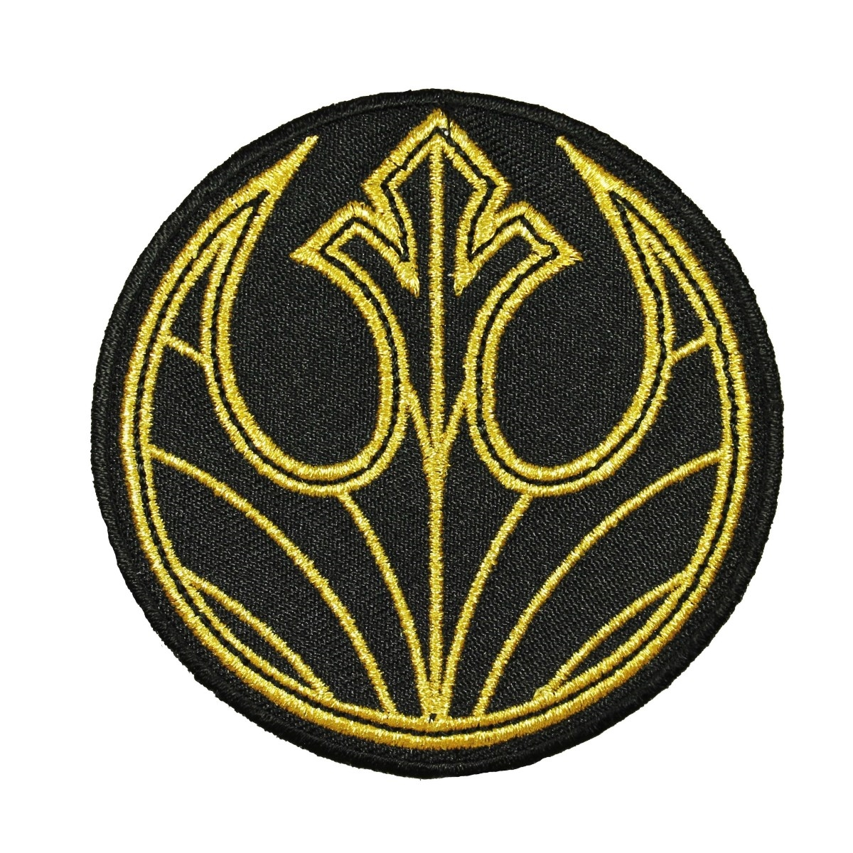 TLJ Rebel Badge Embroidered Iron-On Patch