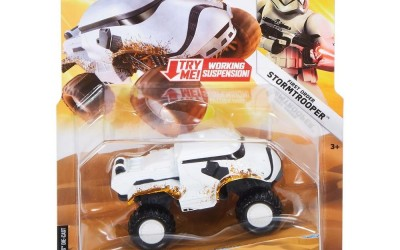 New Solo Movie (Last Jedi) Hot Wheels First Order Stormtrooper All Terrain Vehicle now available!