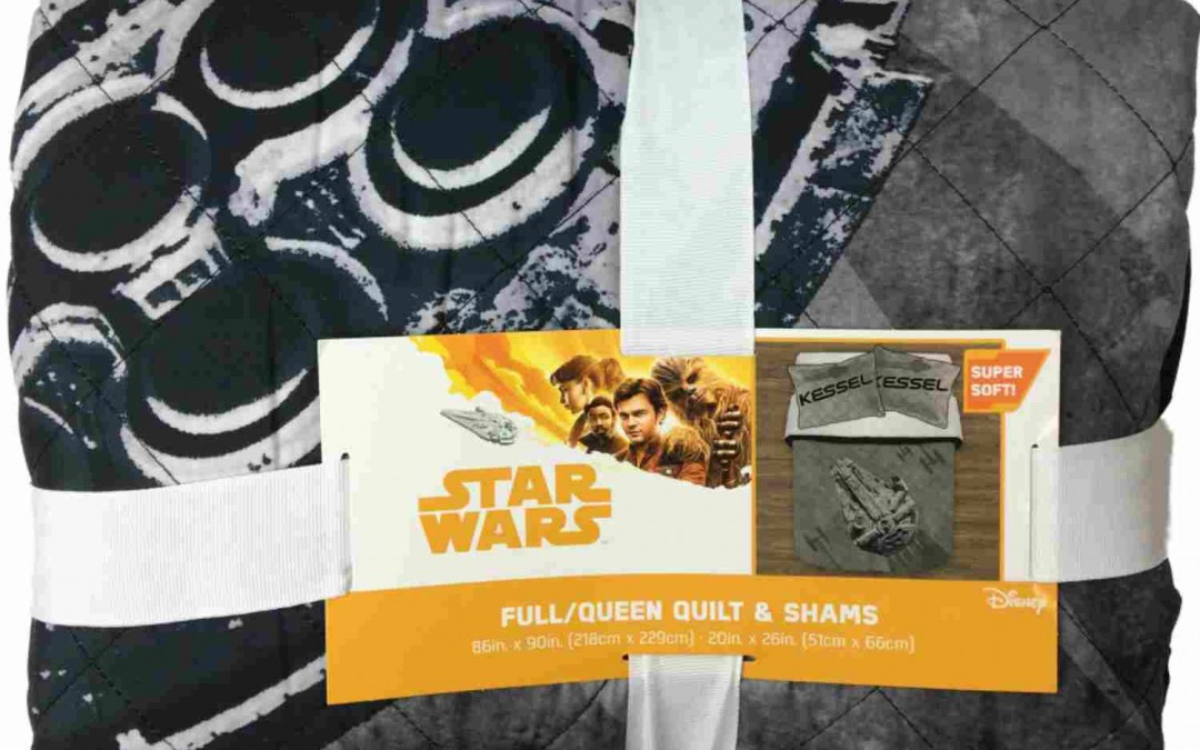 New Solo Movie Kessel Crew Full/Queen Quilt Set now available!