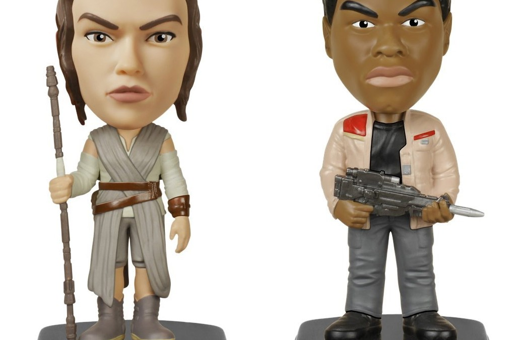 New Last Jedi Funko Pop! Finn & Rey Wacky Wobbler Bundle now available!