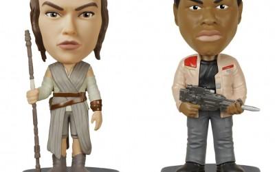 New Last Jedi Funko Pop! Finn & Rey Wacky Wobbler Bundle now available!