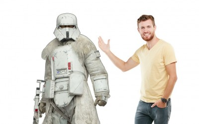 New Solo Movie Imperial Range Trooper Cardboard Standee now in stock!