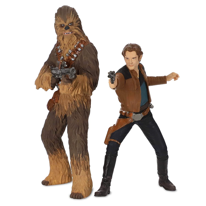 Solo: ASWS Han Solo and Chewbacca Hallmark Ornament Set 2
