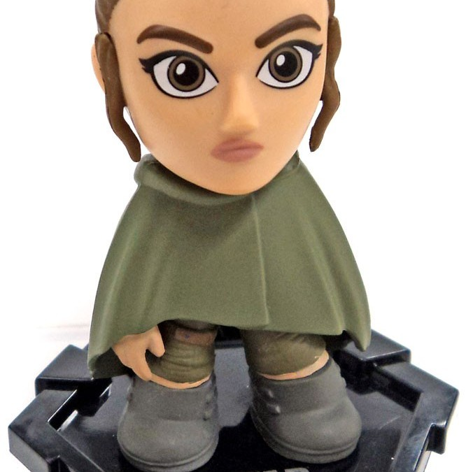 New Last Jedi Funko Pop! Rey in Cloak Mystery Mini Figure now available!