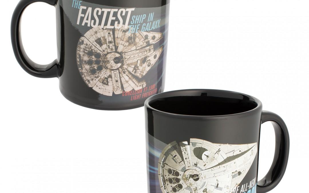 New Solo Movie Millennium Falcon Heat Reactive Mug now available!