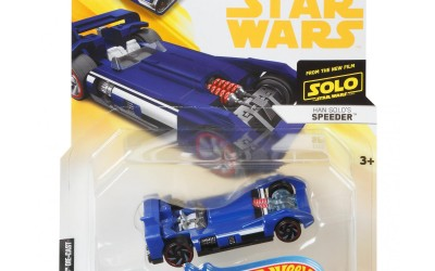New Solo Movie Hot Wheels Han's Speeder Vehicle Car Toy now available!