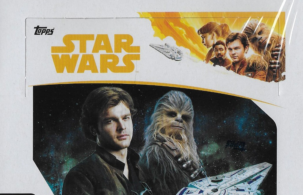 New Solo Movie Topps Trading Cards Box now available!