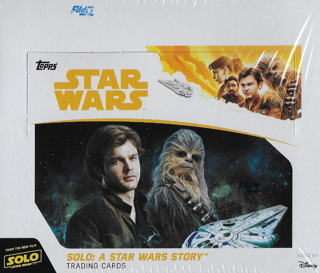 Solo: ASWS Topps Trading Cards Box