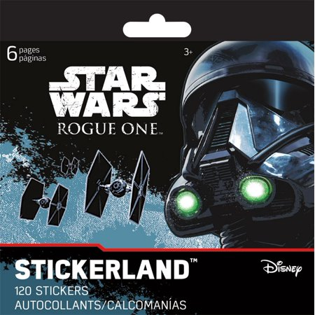 New Rogue One Mini Sticker Land Pad 6-Page Stationery Set now available!