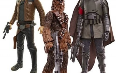 New Solo Movie Big Fig 20-Inch Figure 3-Pack now in stock!