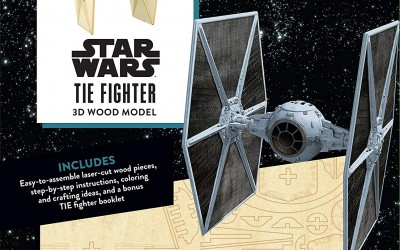 New A New Hope Incredibuilds: Imperial Tie Fighter Book and Model Set now in stock!