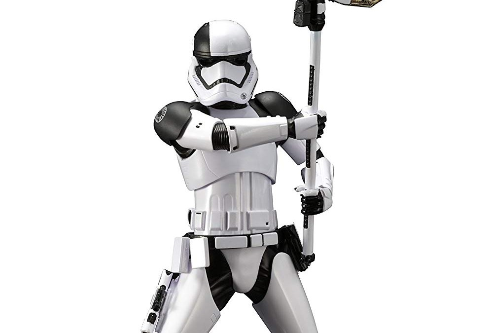 New Last Jedi First Order Executioner Trooper ARTFX+ Statue now available!