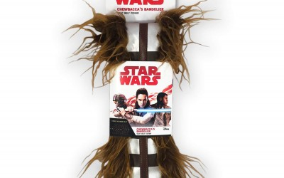 New Last Jedi Chewbacca Bandolier Seat Belt Cover now in stock!