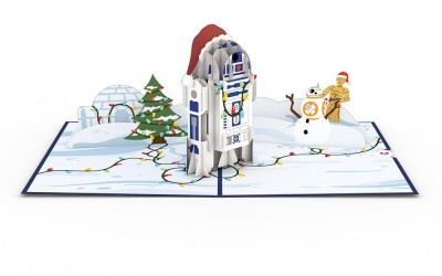 New Star Wars Christmas 3D Cards Rundown!