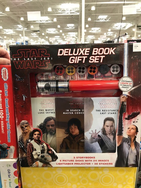 New Last Jedi Deluxe Book Gift Set now available at Costco!