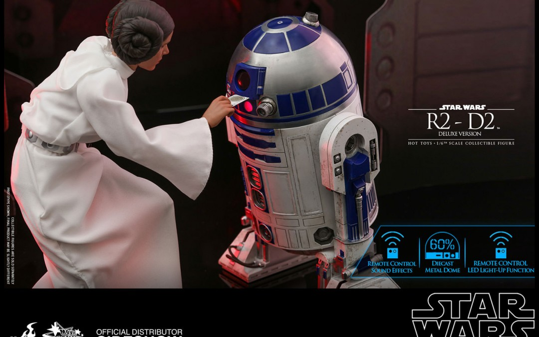 New Star Wars Deluxe R2-D2 1/6th Scale Figure now available for pre-order!