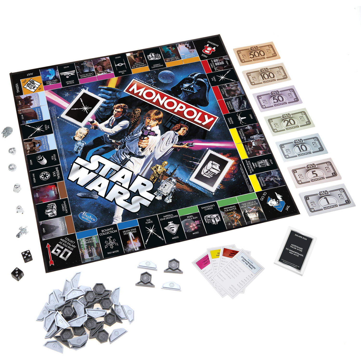 SW 40th Anniversary Special Edition Monopoly Game 2