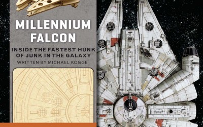New Last Jedi Incredibuilds: Millennium Falcon Book and Model Set now in stock!