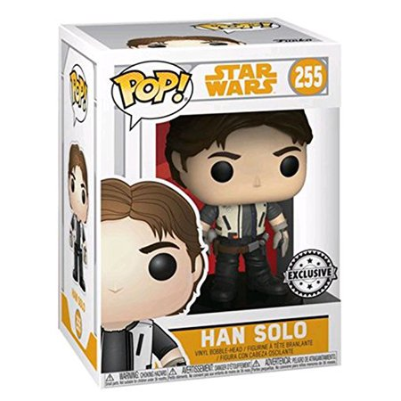 New Exclusive Solo Movie Funko Pop! Han Solo (Flight Outfit) Bobble Head Toy now available!