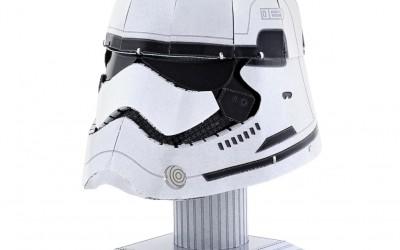 New Last Jedi First Order Stormtrooper Helmet 3D Metal Model Kit now available!