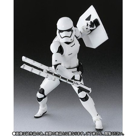 New Force Awakens S.H. Figuarts First Order Stormtrooper Figure now in stock!