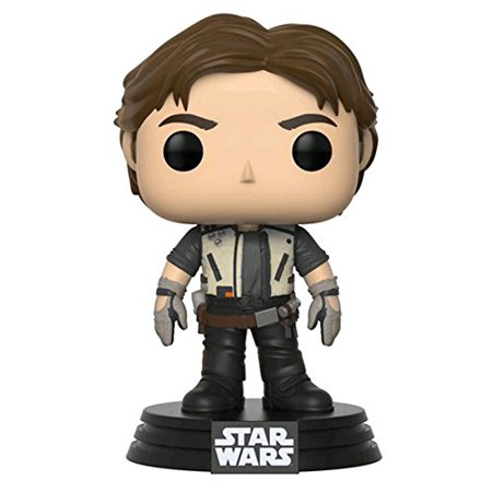 Solo: ASWS FP Han Solo (Flight Outfit) Bobble Head Toy 2