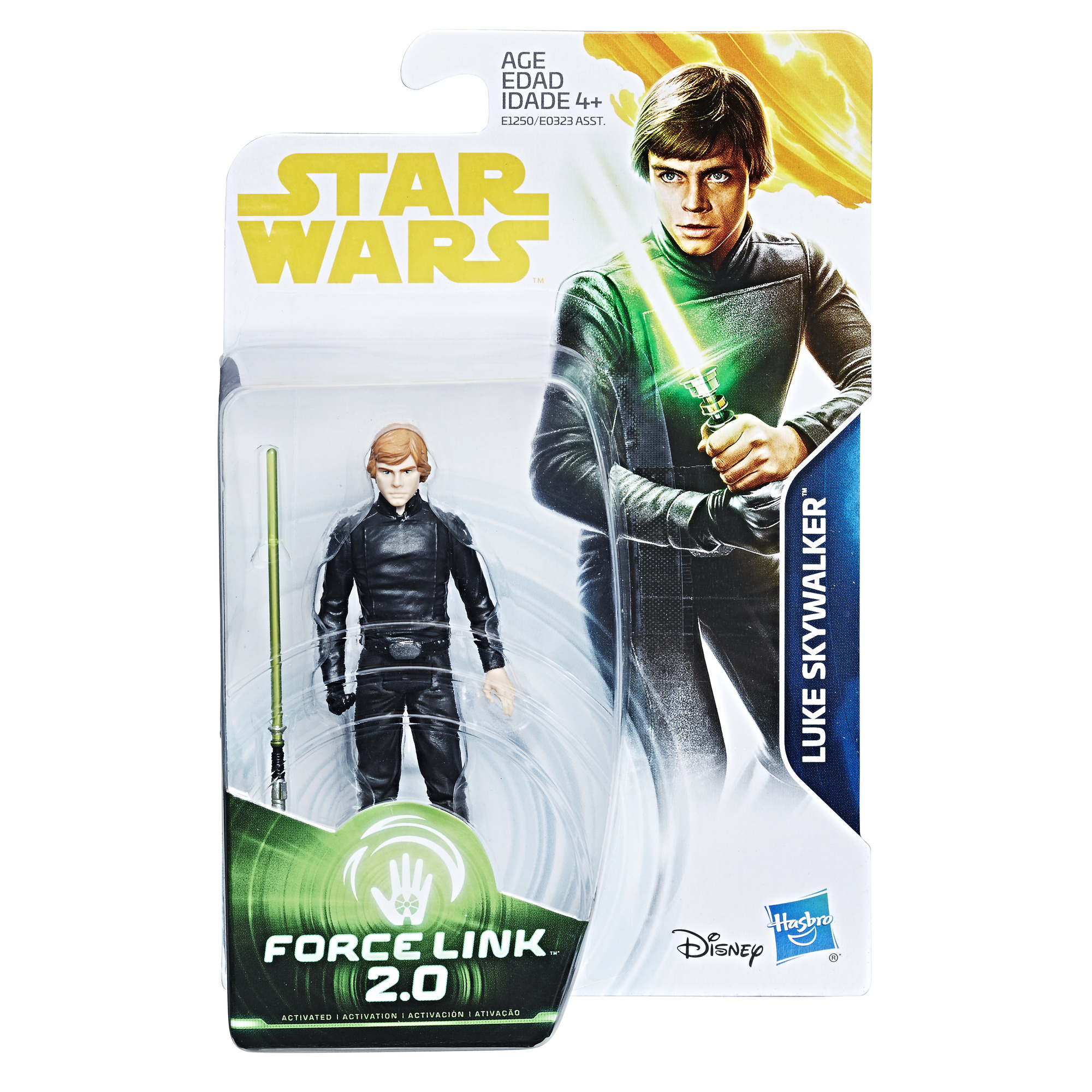 Solo: ASWS (ROTJ) Luke Skywalker Force Link 2.0 Figure 1