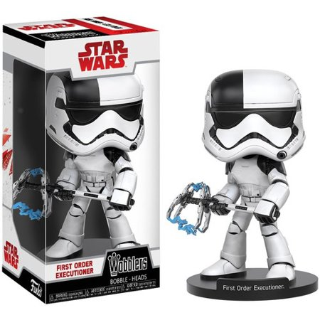 TLJ FO Executioner Trooper Funko Pop! Wobbler Bobble Head Toy