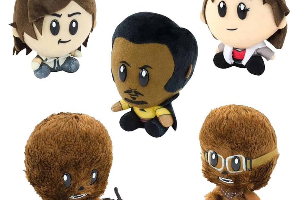 New Solo Movie Super Bitz Plush Toy 5-Pack now available!