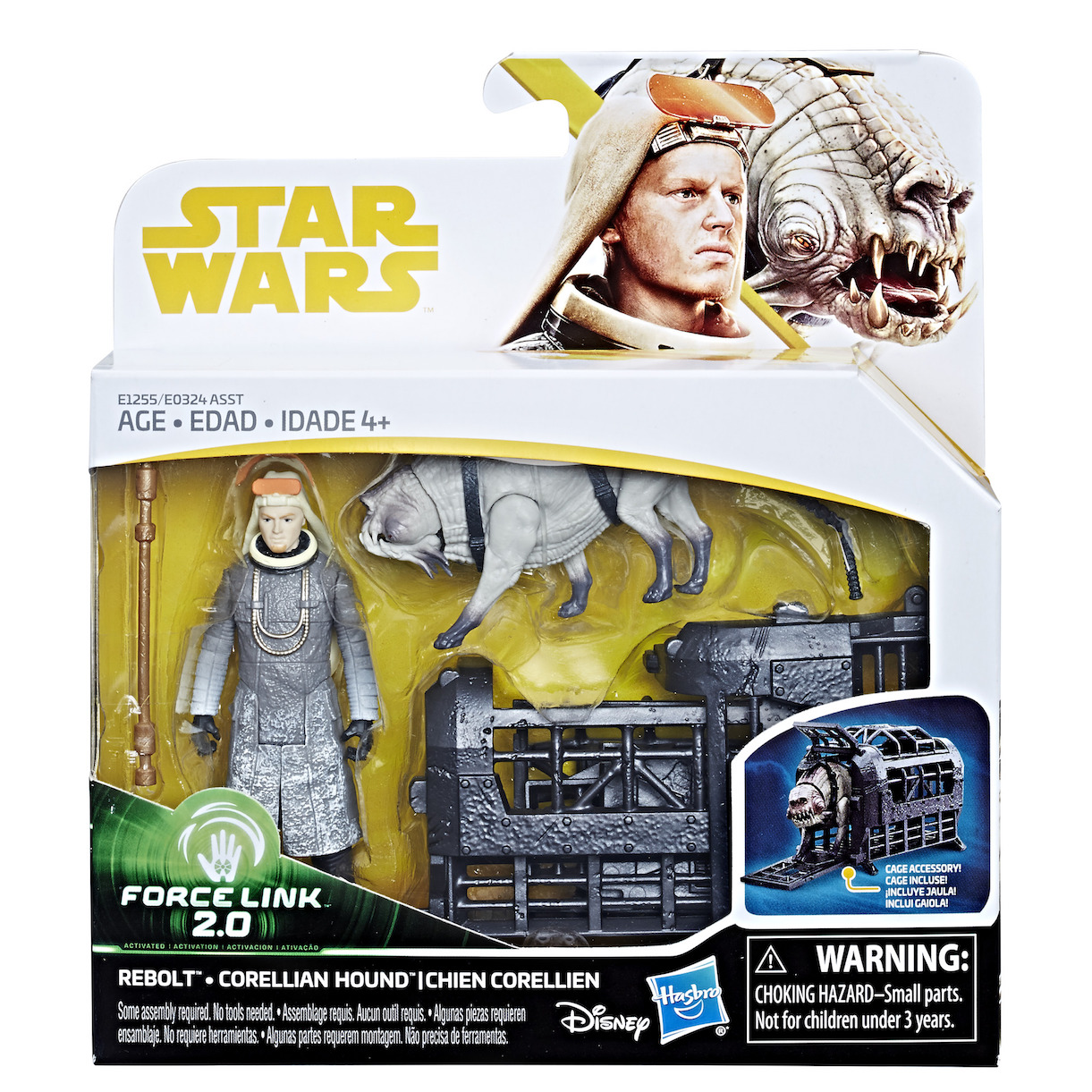 Solo: ASWS Force Link 2.0 Rebolt and Corellian Hound Figure Set 1