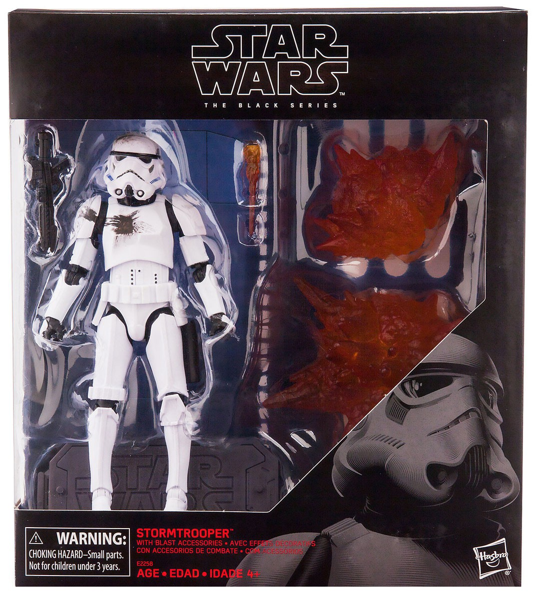 SW Imperial Stormtrooper BS Figure (with Blast Accessories)