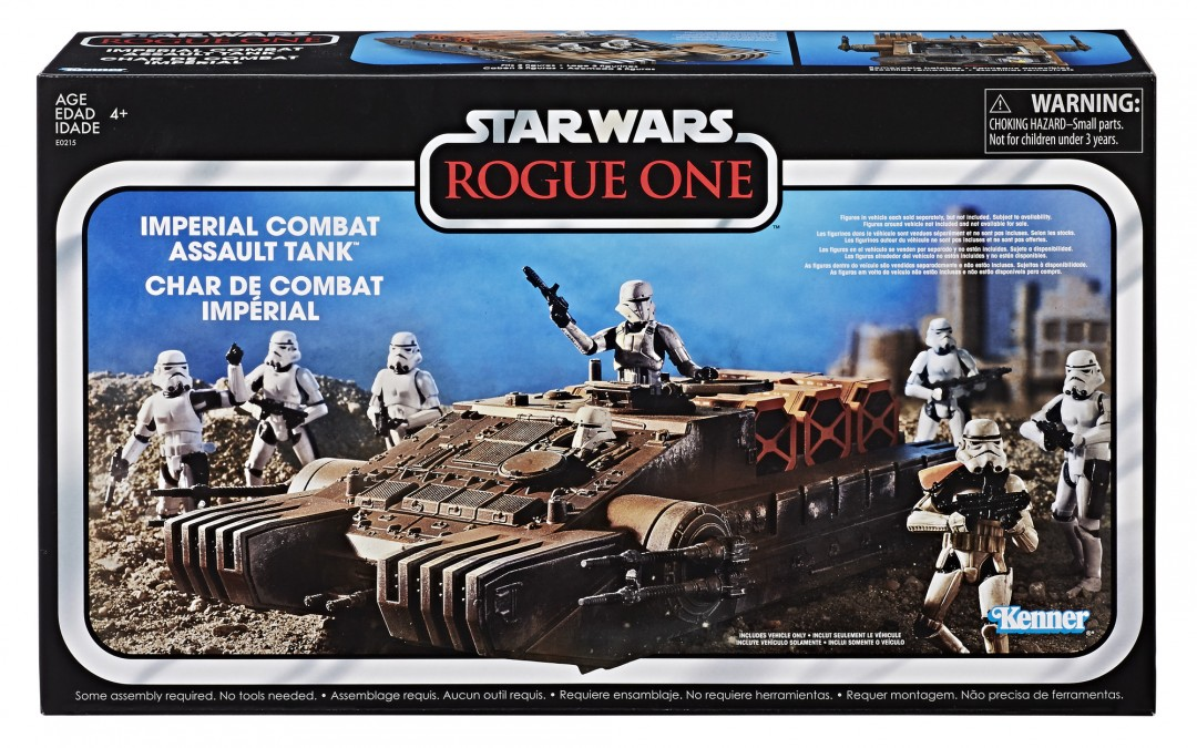 Holiday 2018 Deal: Rogue One Vintage Collection Imperial Combat Assault Tank!