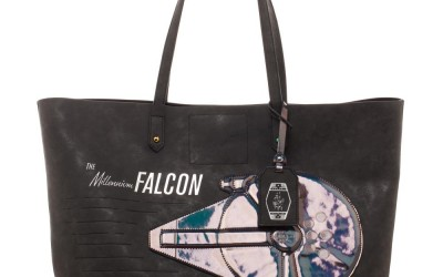 New Solo Movie Millennium Falcon Oversized Tote Bag now available!