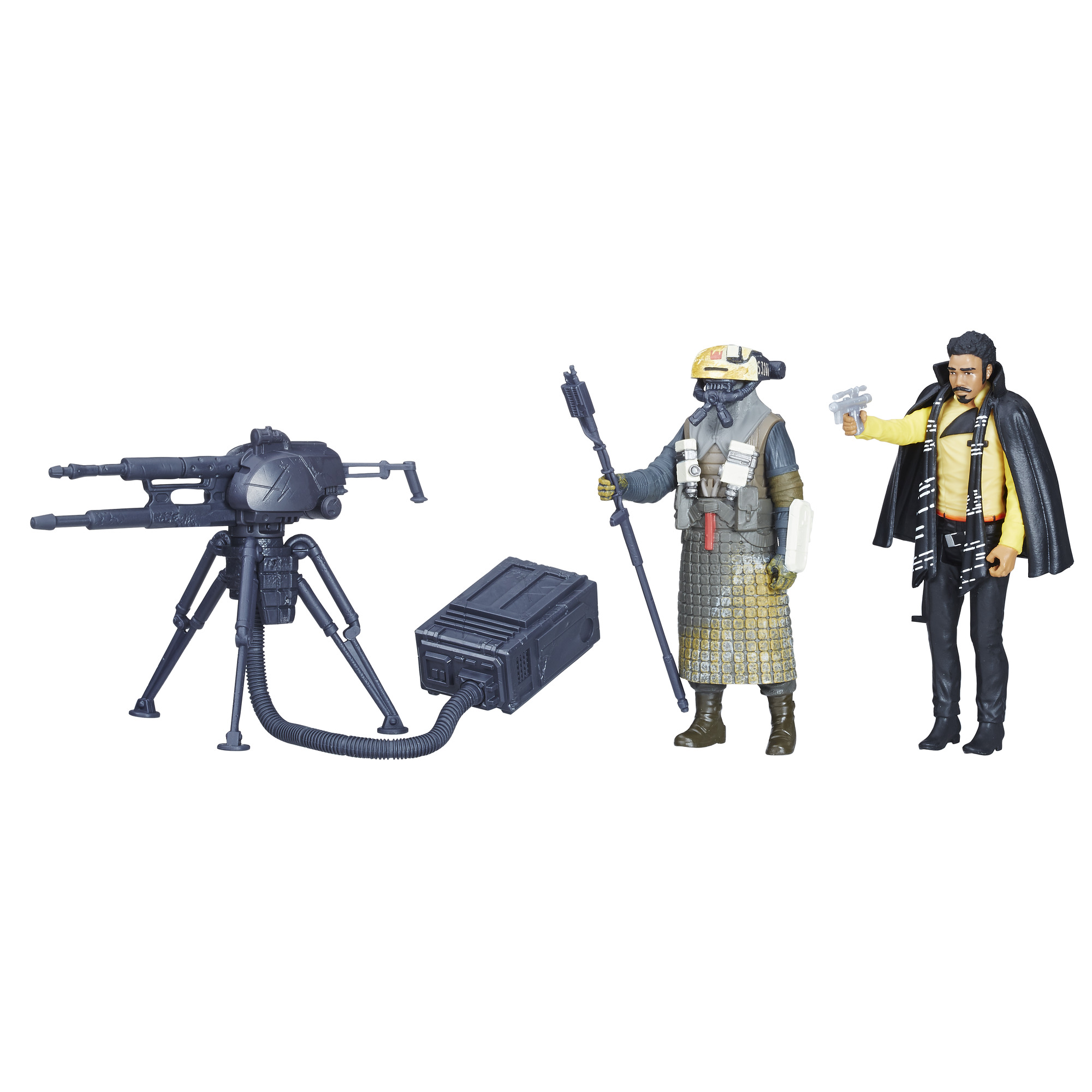 Solo: ASWS Force Link 2.0 Lando Calrissian & Kessel Guard 2-Pack 2