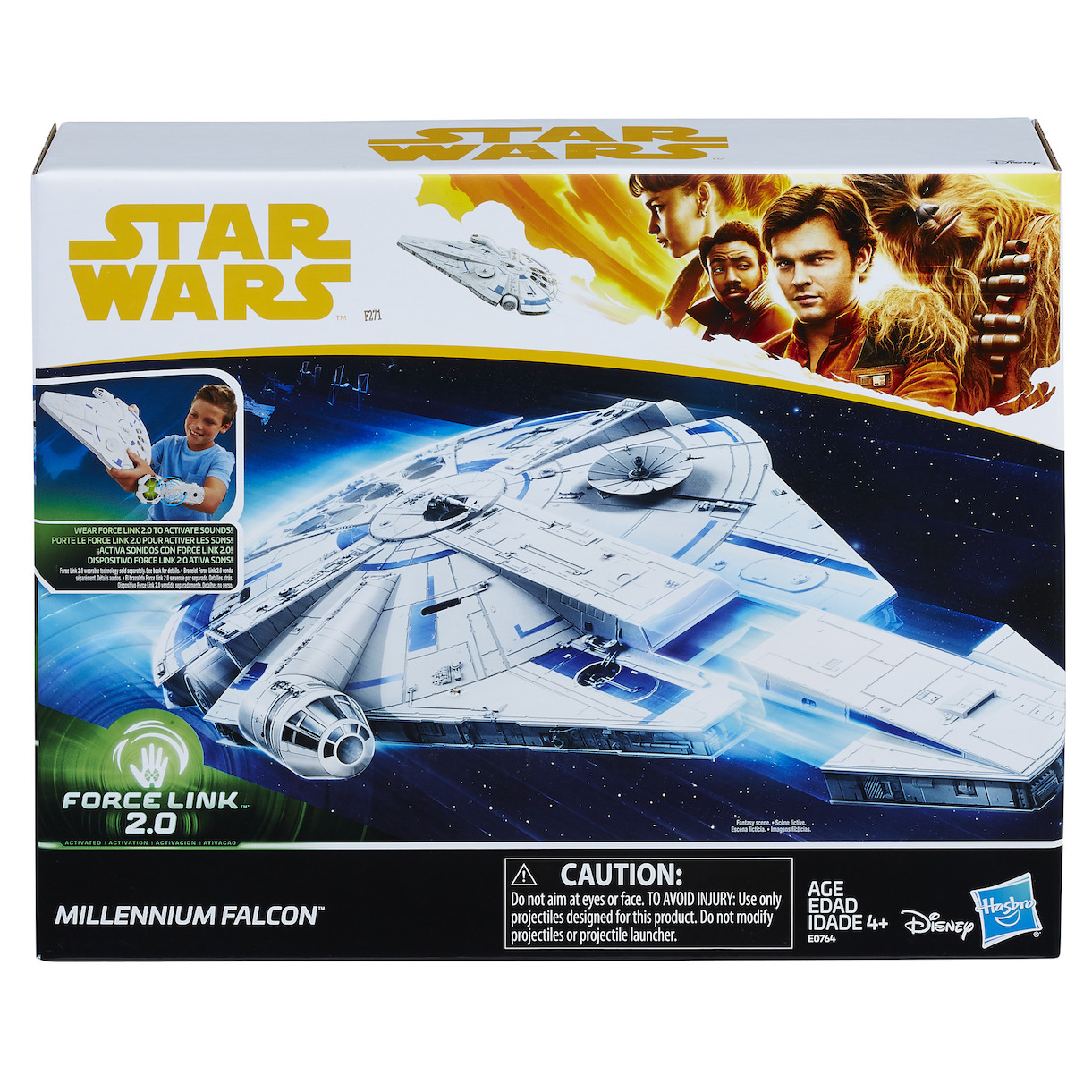 Solo: ASWS Force Link 2.0 Millennium Falcon with Escape Craft Set 1