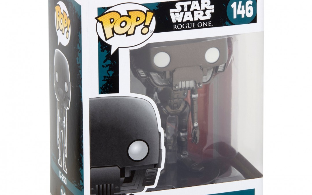 Holiday 2018 Deal: Rogue One K-2S0 Funko Pop! Bobble Head Toy!