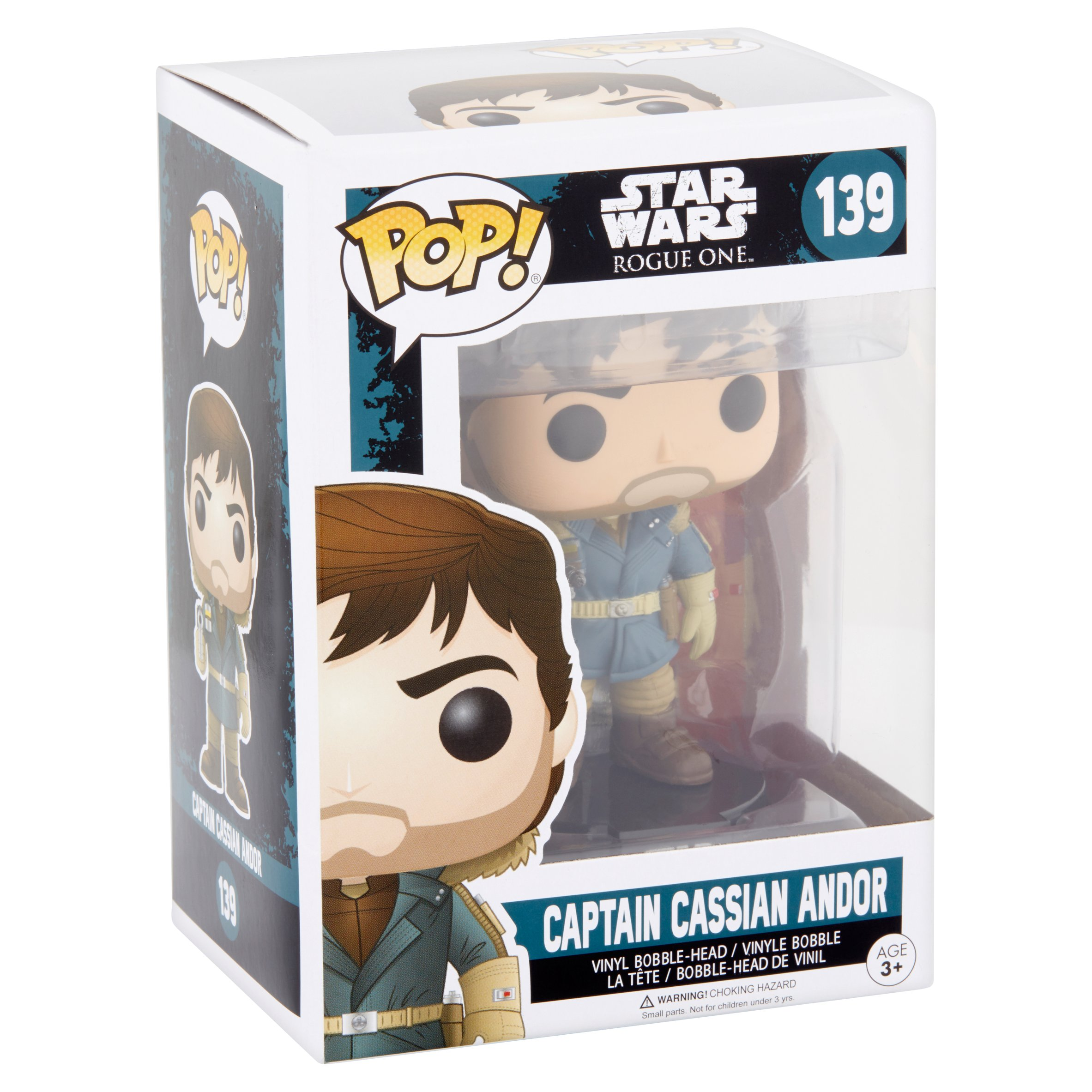 RO FP Captain Cassian Andor Bobble Head Toy