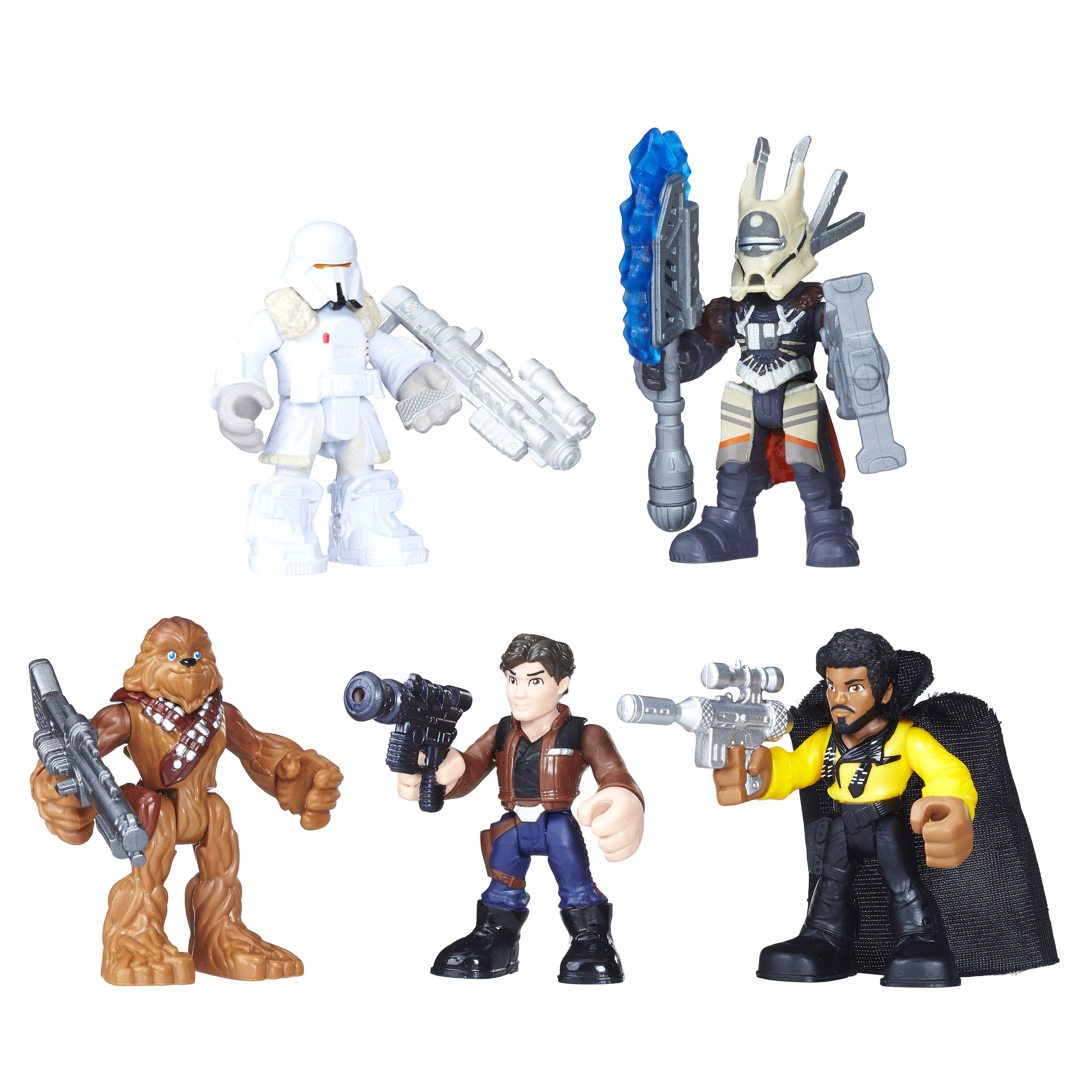 Solo: ASWS Galactic Heroes Smugglers and Scoundrels Figure Pack 2