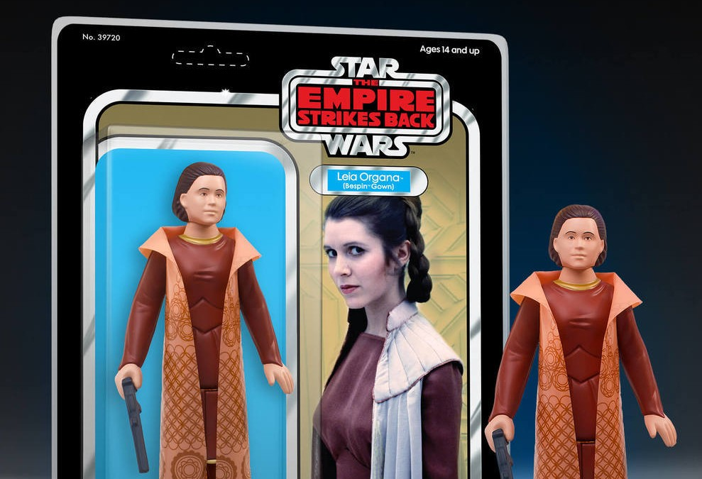 "New Empire Strikes Back Leia Bespin ""Cloud City"" Jumbo Figure available for pre-order!"