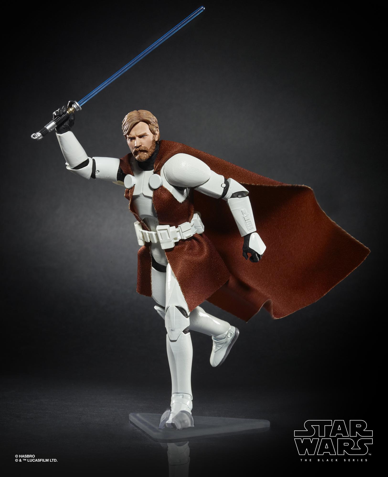 SWTCW BS Obi-Wan Kenobi (in Clone Trooper Armor) Figure