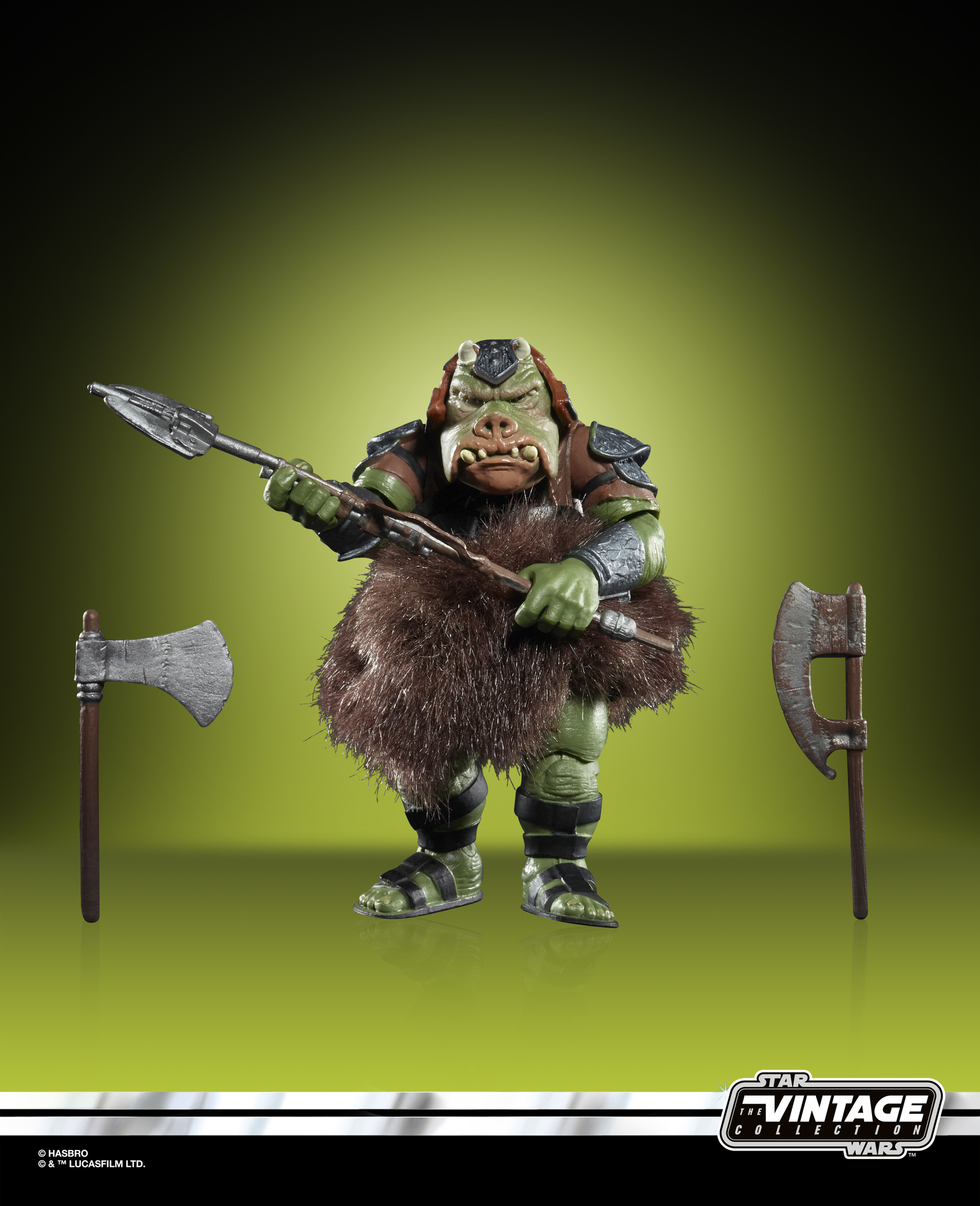 ROTJ Vintage Gamorrean Guard Figure