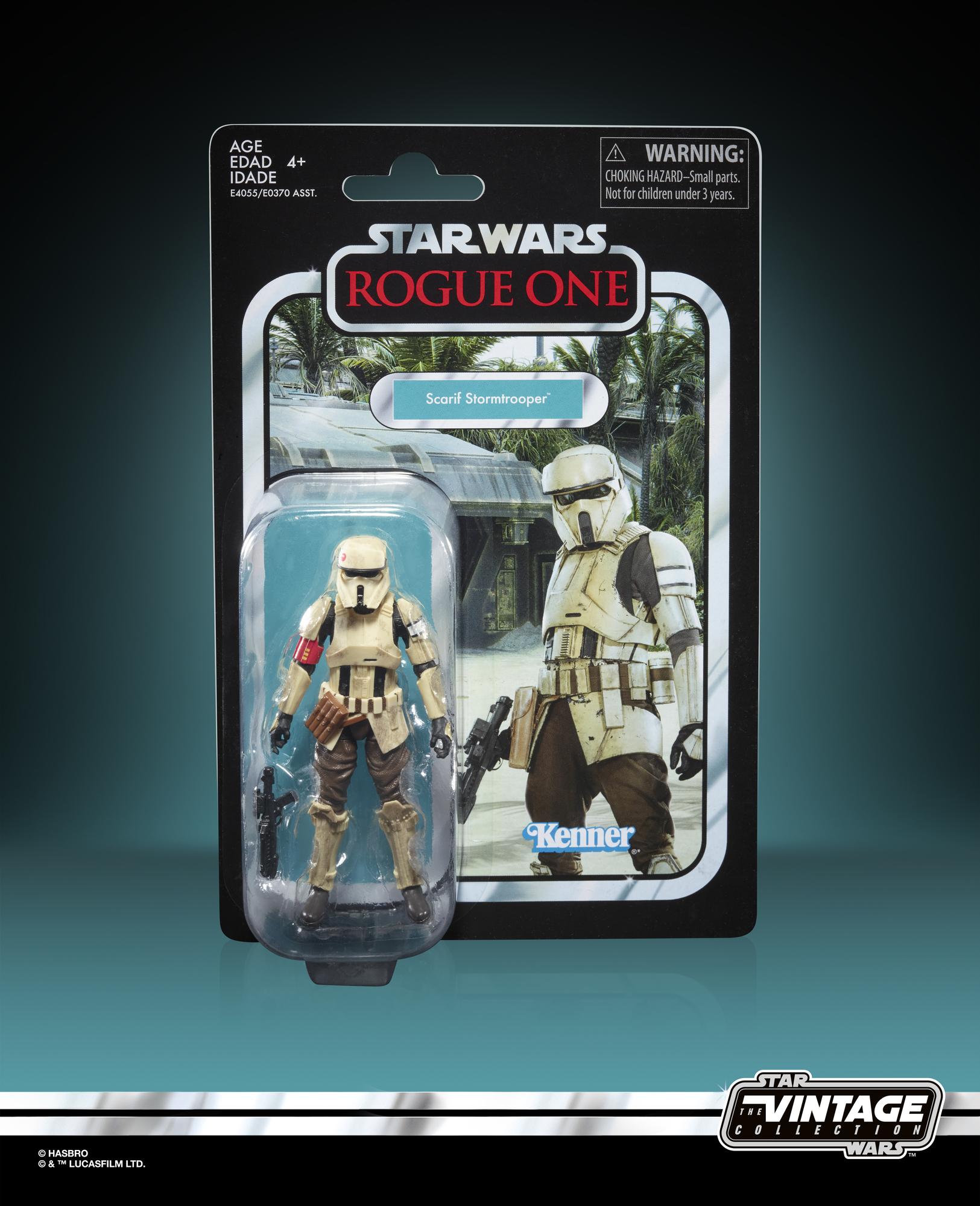 RO Vintage Imperial Scarif Trooper Figure