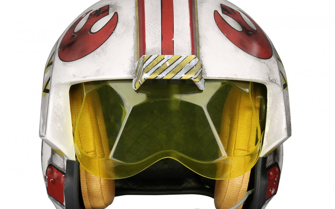New A New Hope Luke Skywalker Rebel Pilot Helmet Accessory available for pre-order!