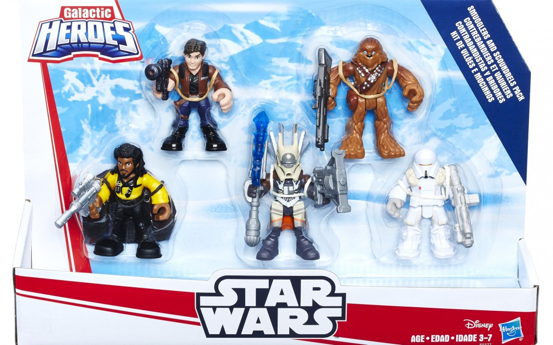 Holiday 2018 Deal: Solo Movie Galactic Heroes Smugglers and Scoundrels Figure Pack