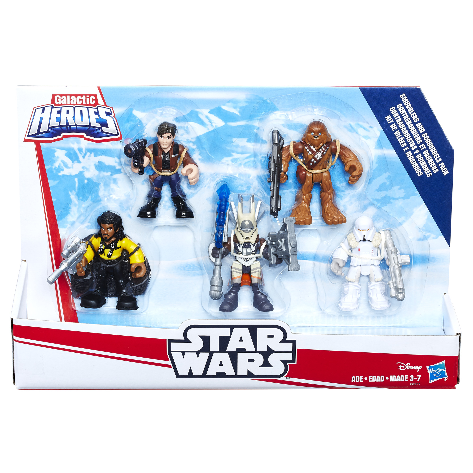 Solo: ASWS Galactic Heroes Smugglers and Scoundrels Figure Pack 1
