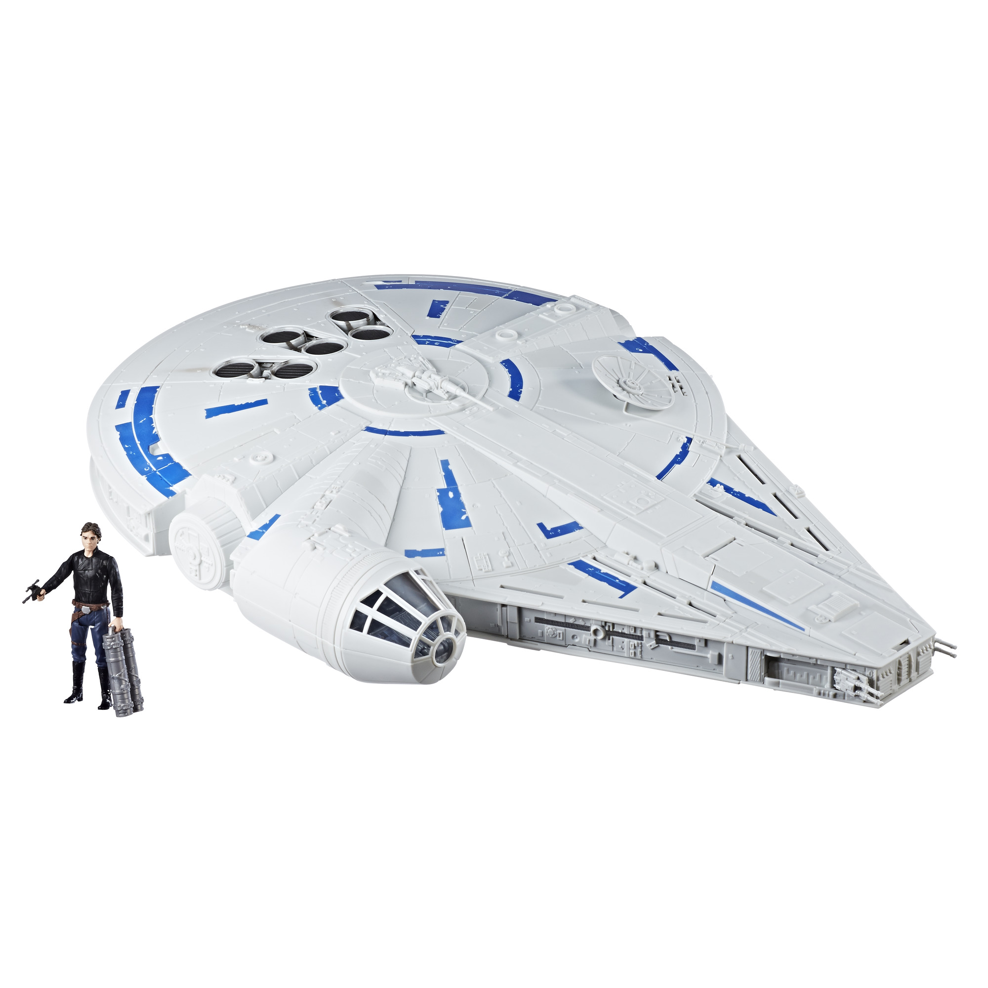 Solo: ASWS Force Link 2.0 Kessel Run Millennium Falcon with Han Solo Figure Set 2