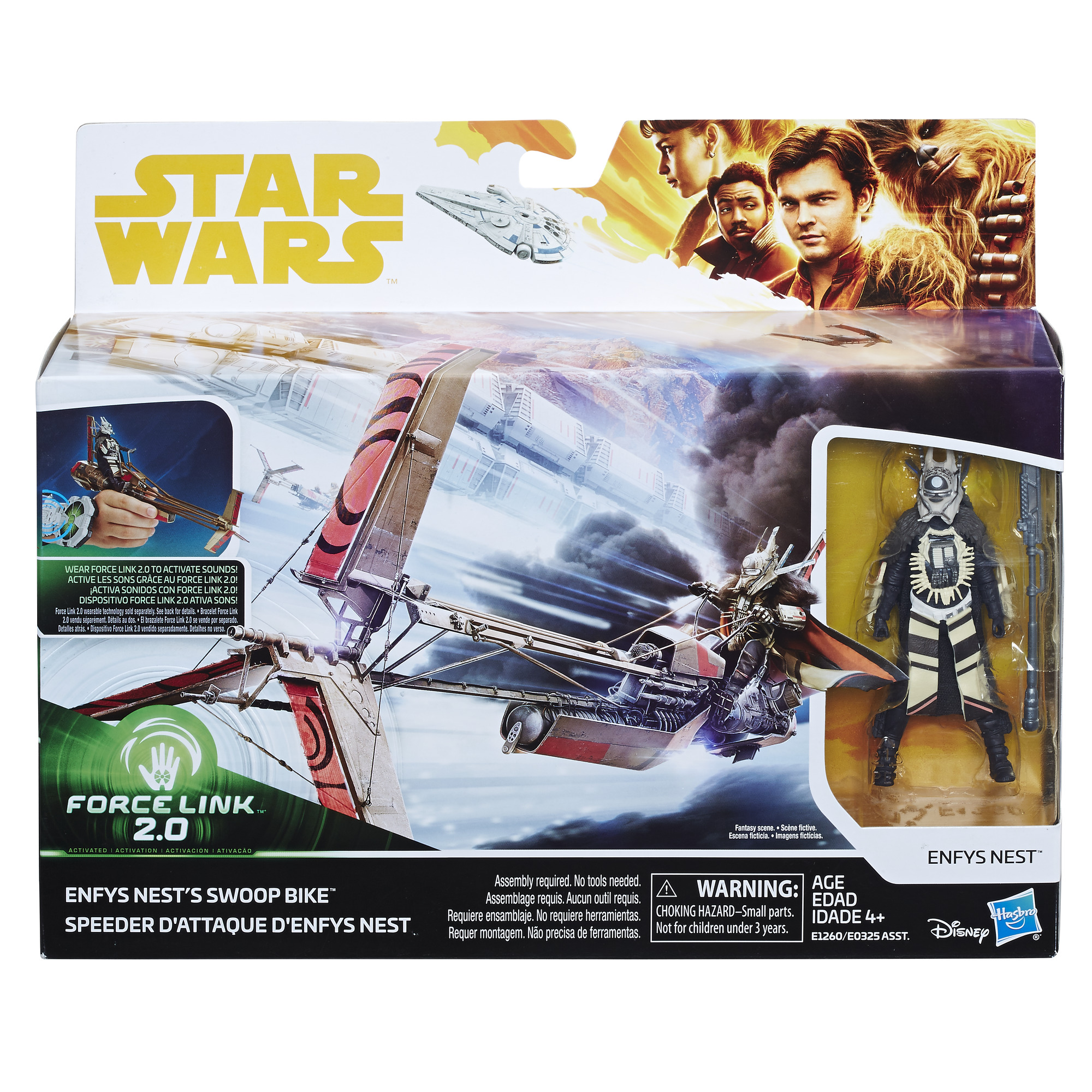 Solo: ASWS Force Link 2.0 Enfys Nest's Swoop Bike & Figure Set 1