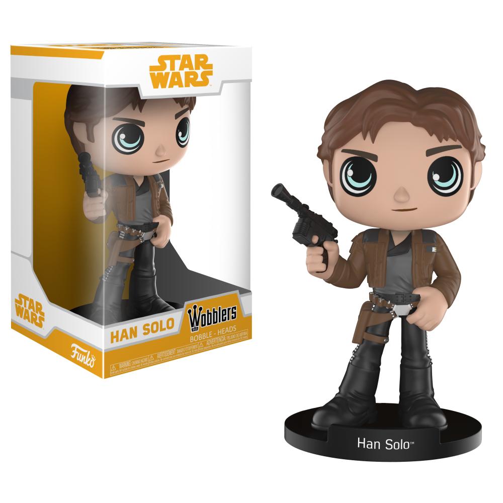 Solo: ASWS FP Han Solo Wobbler Bobble Head Toy