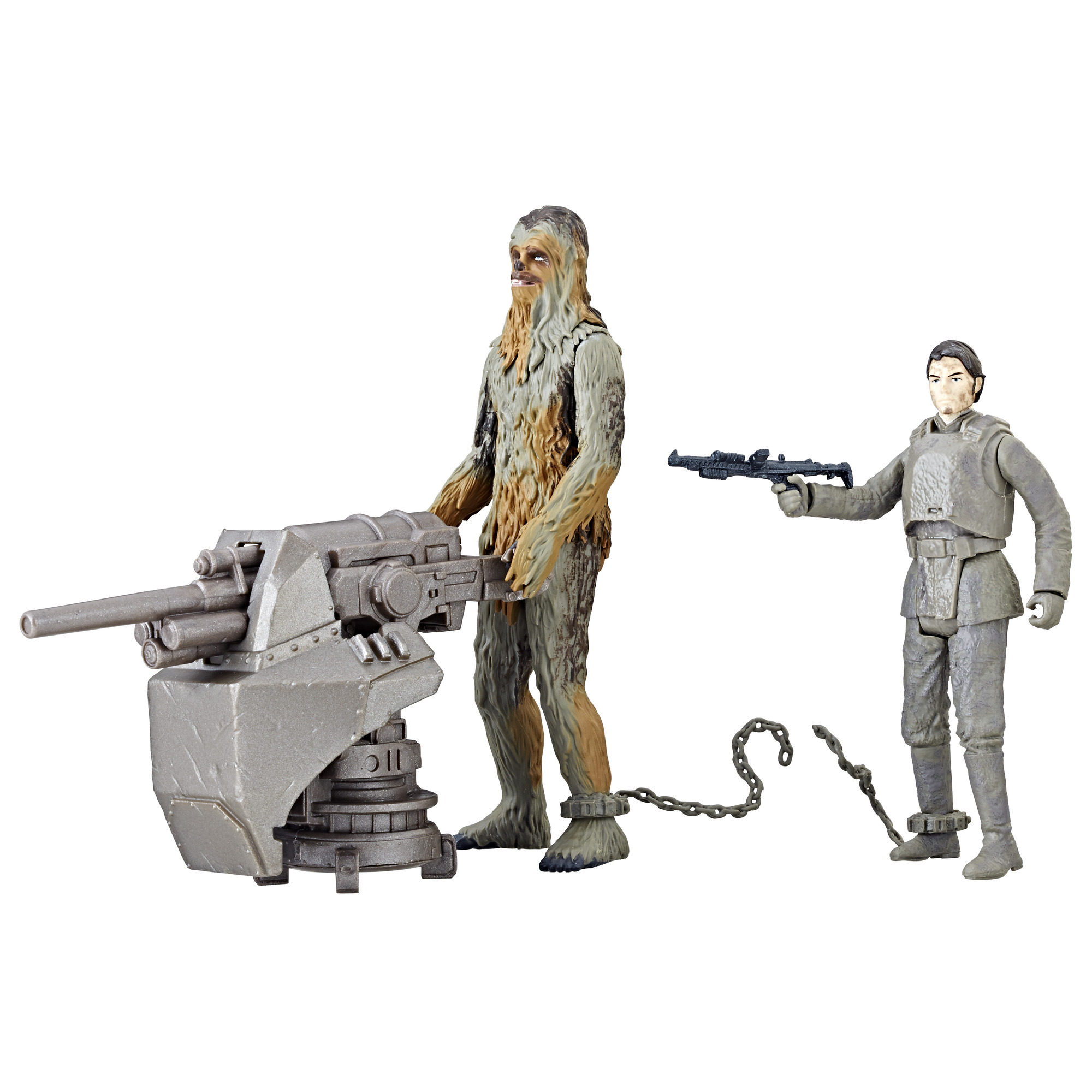 Solo: ASWS Force Link 2.0 Han Solo and Chewbacca (Mimban) Figure Set 2